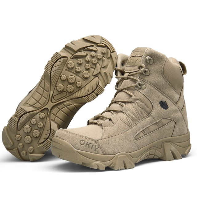 Outdoor Leather Hiking  Boots