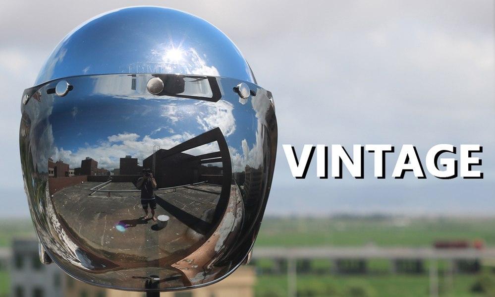 LDMET vintage motorcycle helmet jet capacetes de motociclista harley sliver chrome vespa cascos para moto cafe racer mirror