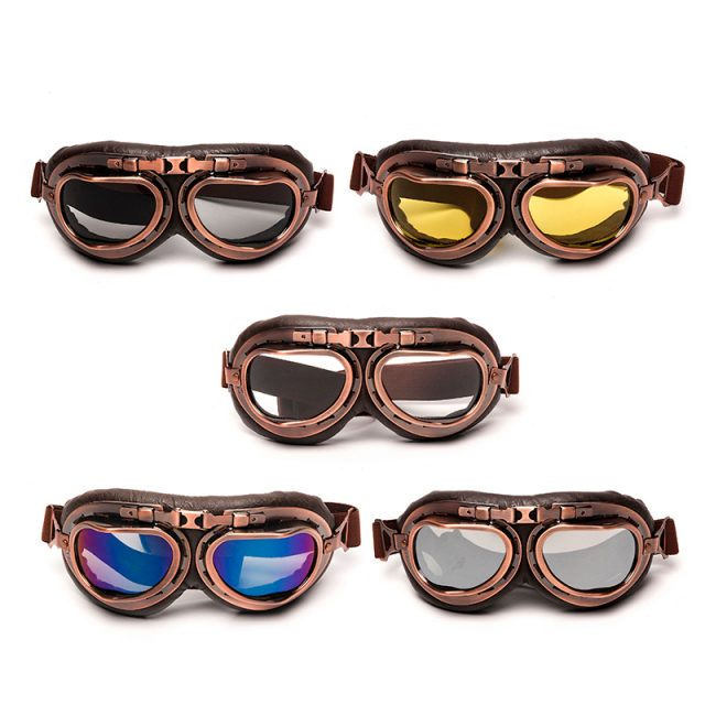 Vintage Style Motorcycle ProtectiveGoggles