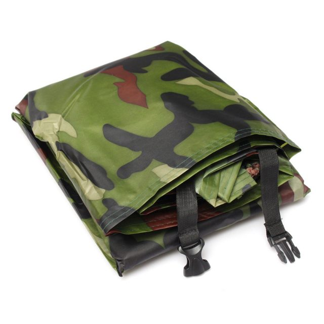 Camouflage Color Waterproof Motorcycle Rain Cover