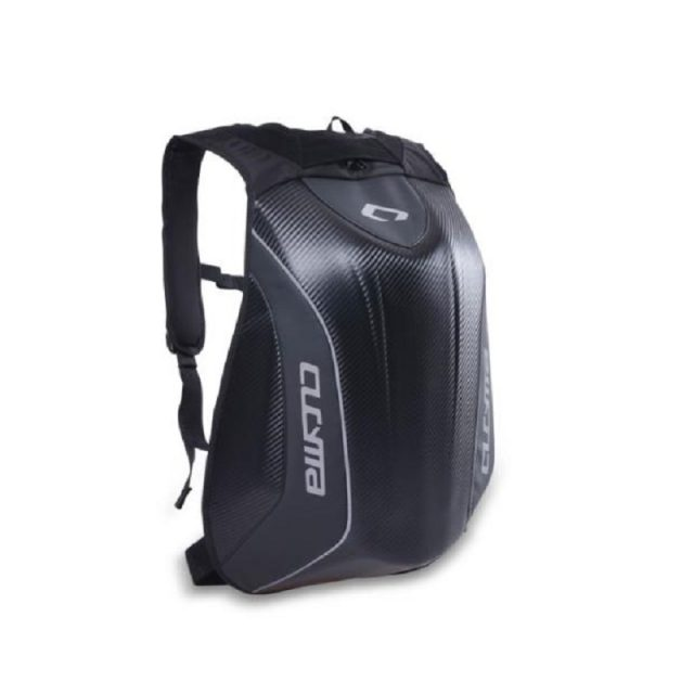 Unisex Carbon Fiber Motorcycle Backpack