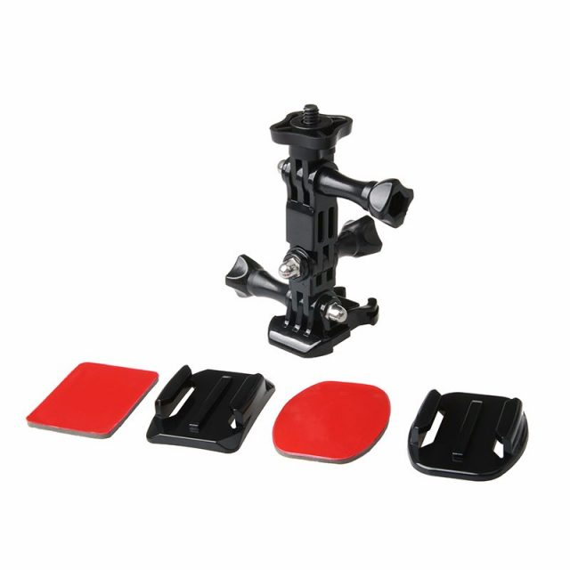 Action Camera Helmet Mounts Set