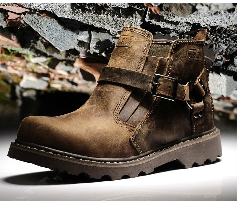 Motorcycle genuine leather Boots,Racing Boots touring boots ,street bike boot size 36-44