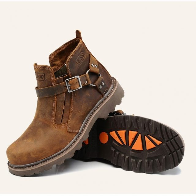 Motorcycle genuine leather Boots, size 36-44
