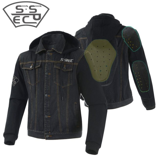 Casual  Motorcycle Jacket With Protectors