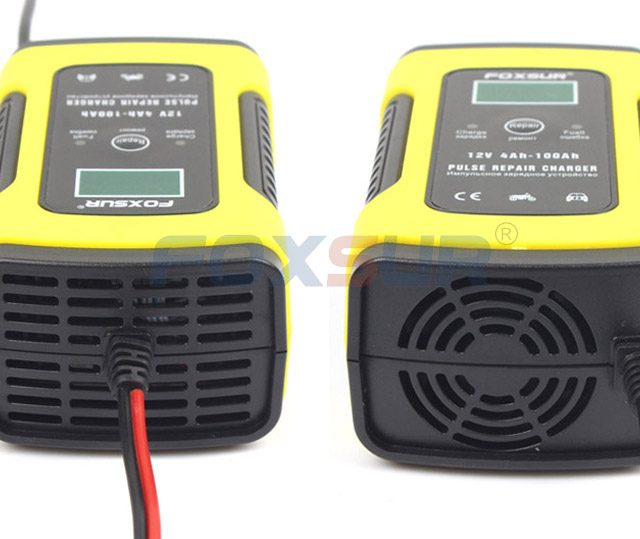 12V 5A Pulse Repair Battery Charger