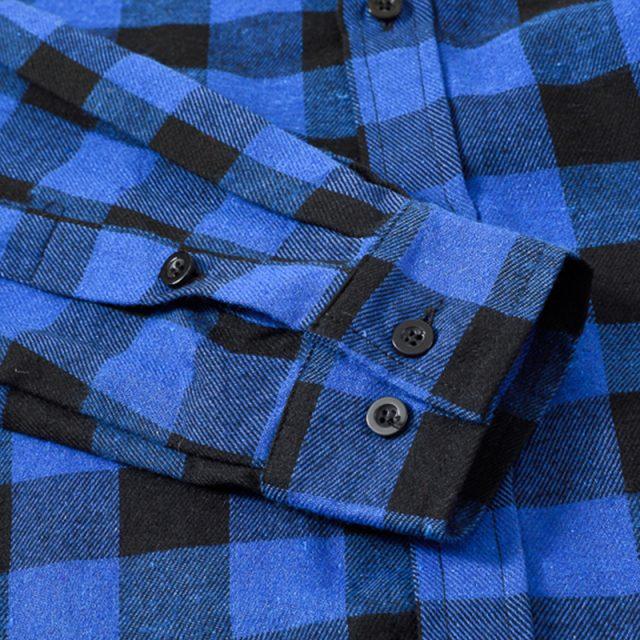 Plaid Checkered Long Sleeve Shirt