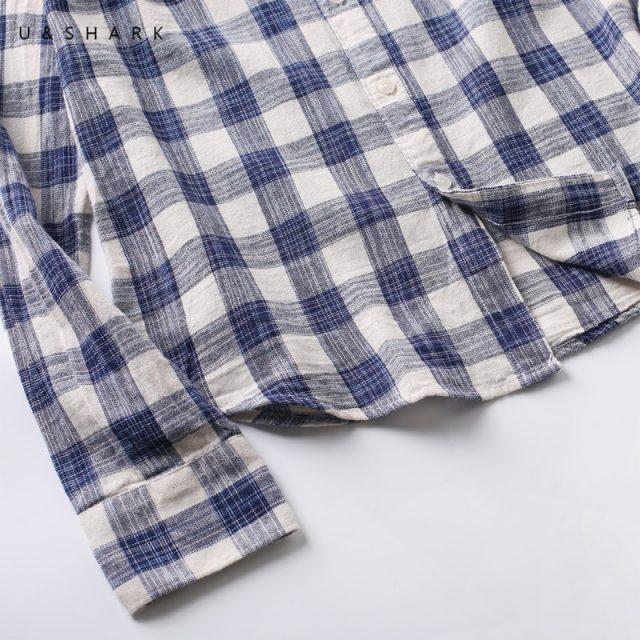 Casual Shirt Long Sleeve Checkered