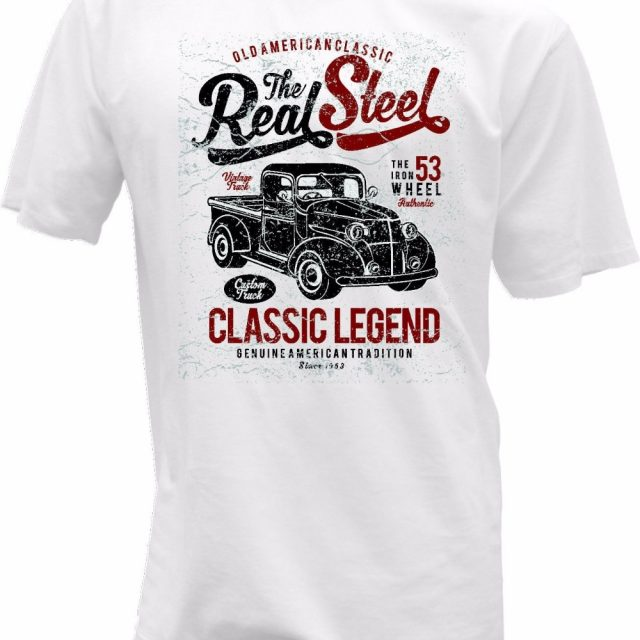 T-Shirt The Real Steel