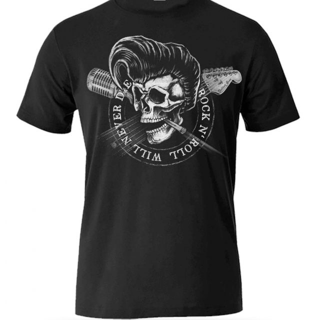 T-Shirt Rock N' Roll Will Never Die