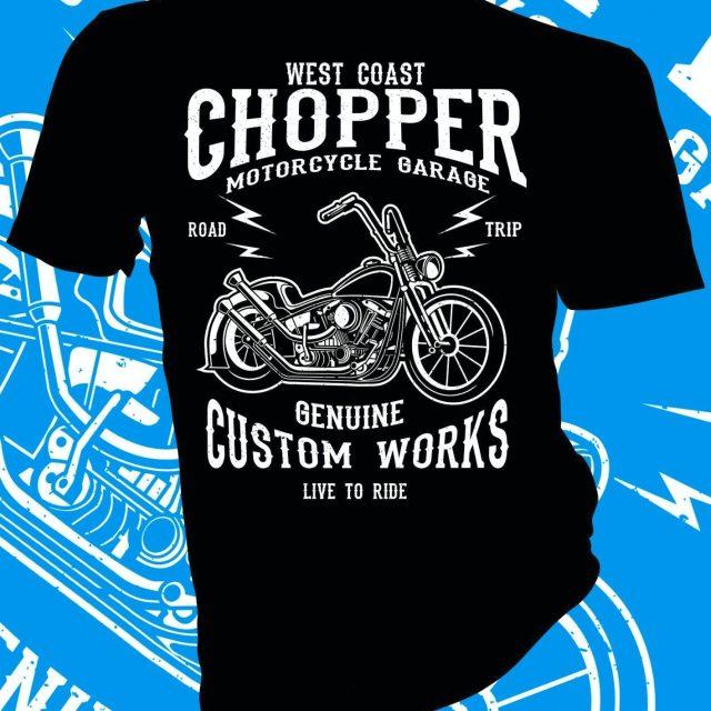 Chopper Custom T-Shirt
