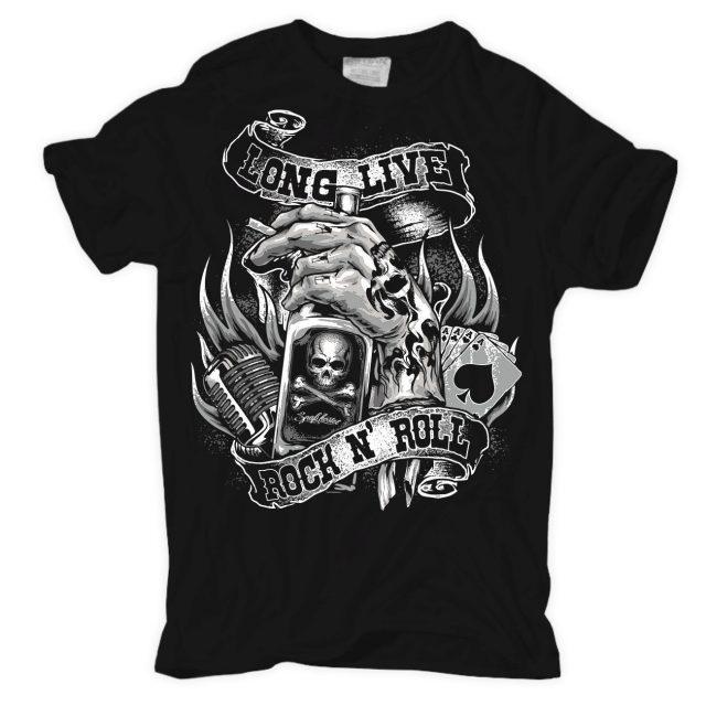 T-Shirt Long Live ROCK N ROLL