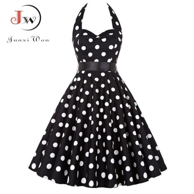 Polka Dots Summer Dress