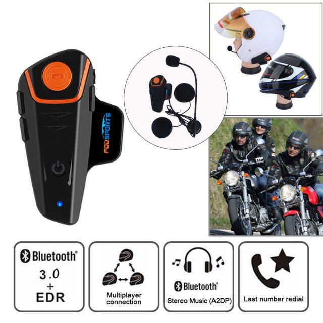 2 pcs BT-S2 Pro motorcycle helmet intercom
