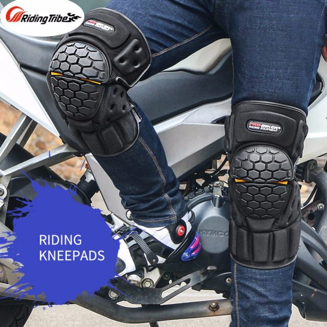 Motorcycle honeycomb Knee Guards