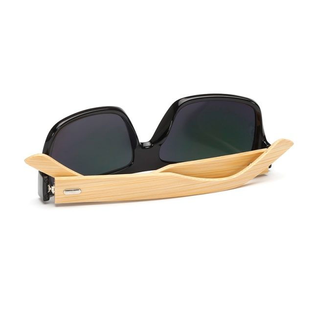 Vintage Wooden Sunglasses UV400