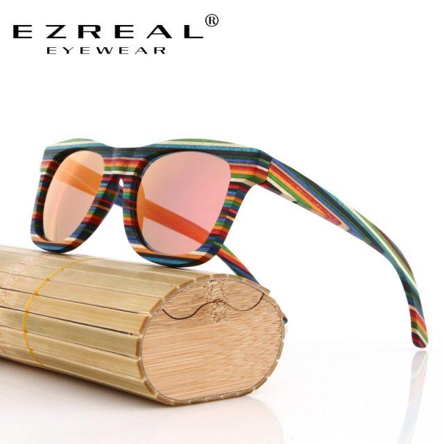 Wooden Bamboo Sunglasses UV400