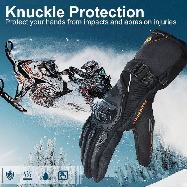 Winter Motorcycle Gloves – Waterproof, Windproof
