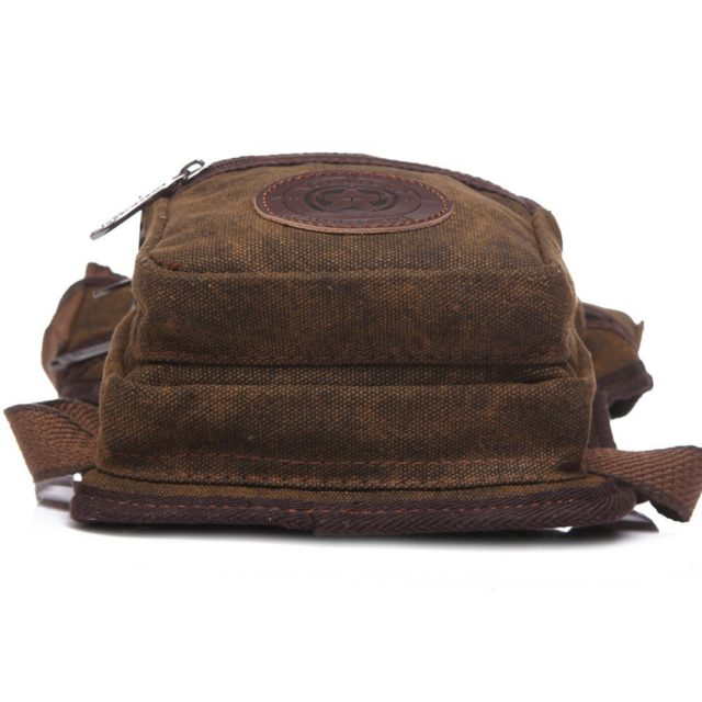 Men's Canvas Leg Bag