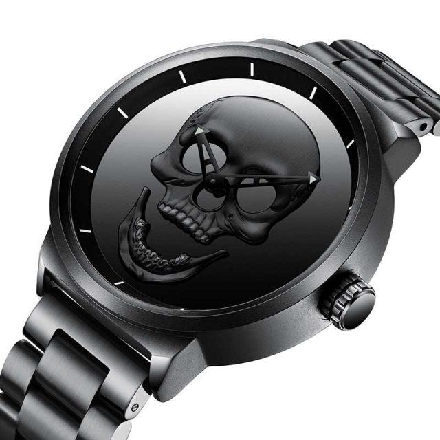 Skull Quartz Watch