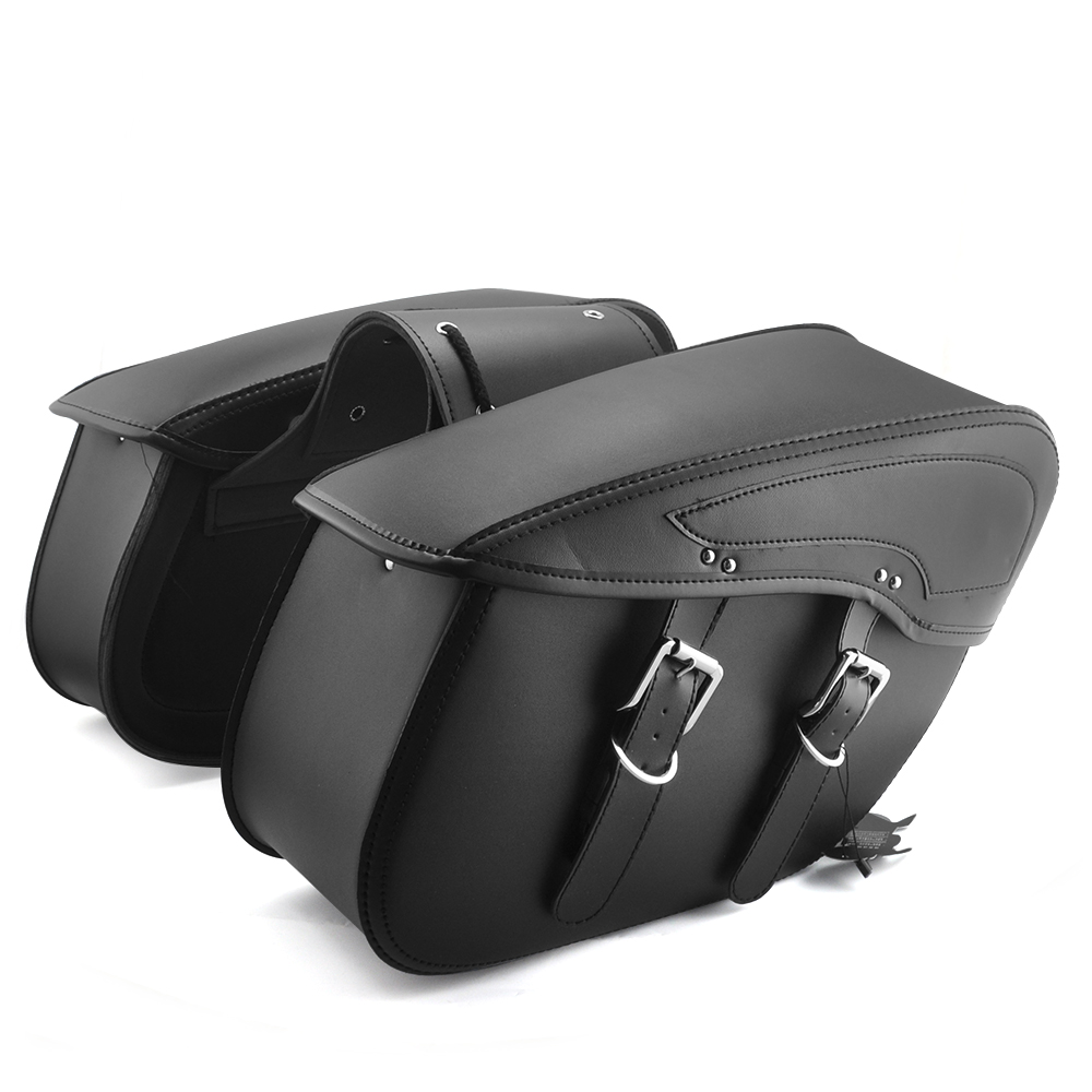Motorcycle Saddlebags - PU Leather
