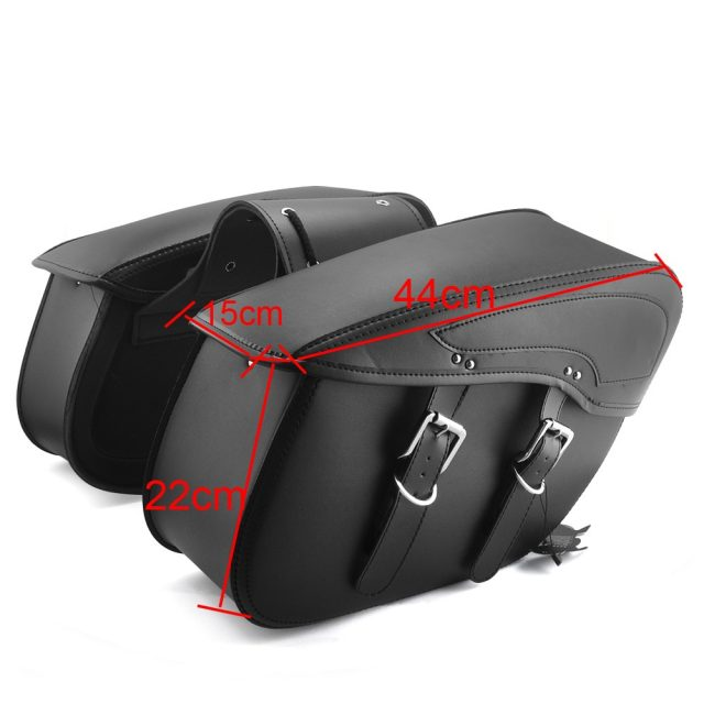 Motorcycle Saddlebags – PU Leather
