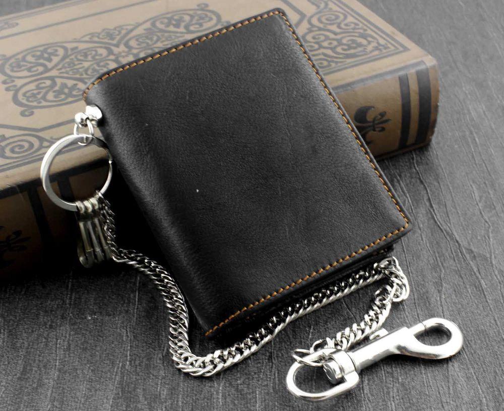Black Wallet - Genuine Leather