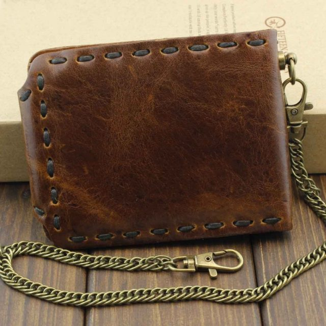 Vintage Look Wallet – Genuine Leather