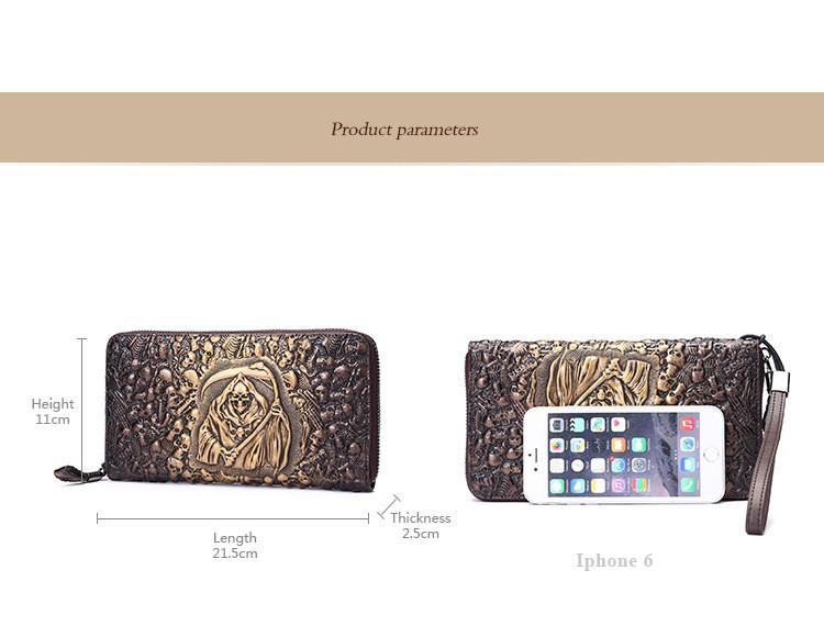 Women Wallet - Genuine Leather