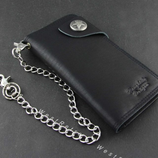 Biker Wallet – Genuine Leather