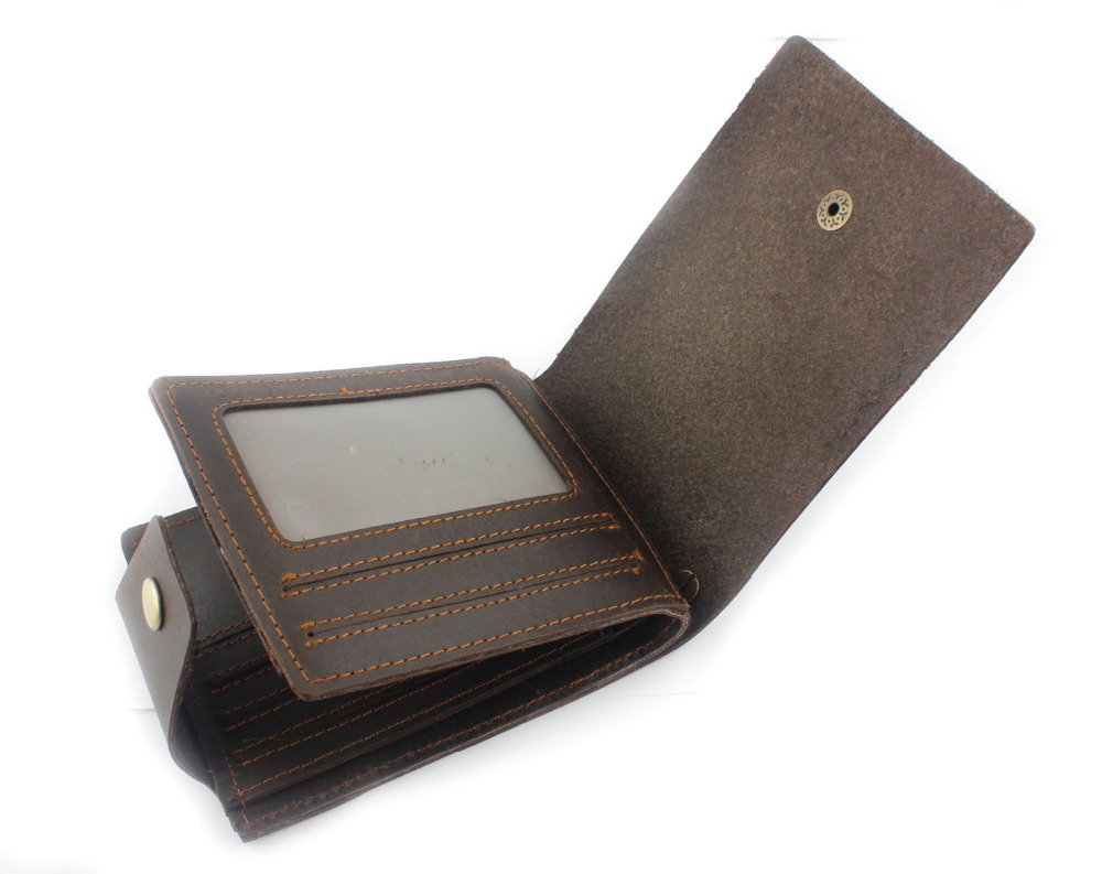 Mens Vintage Wallet - Genuine Leather