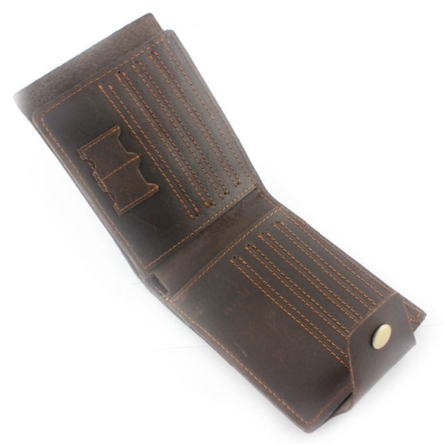 Mens Vintage Wallet – Genuine Leather