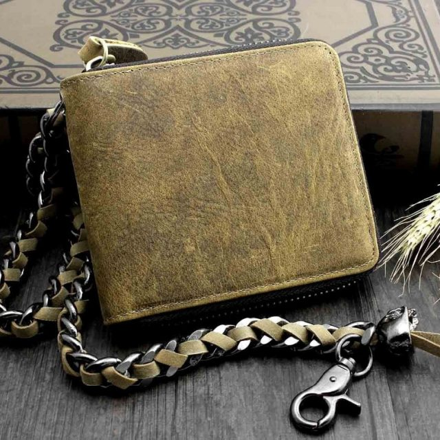 Mens Vintage Wallet – Genuine Leather