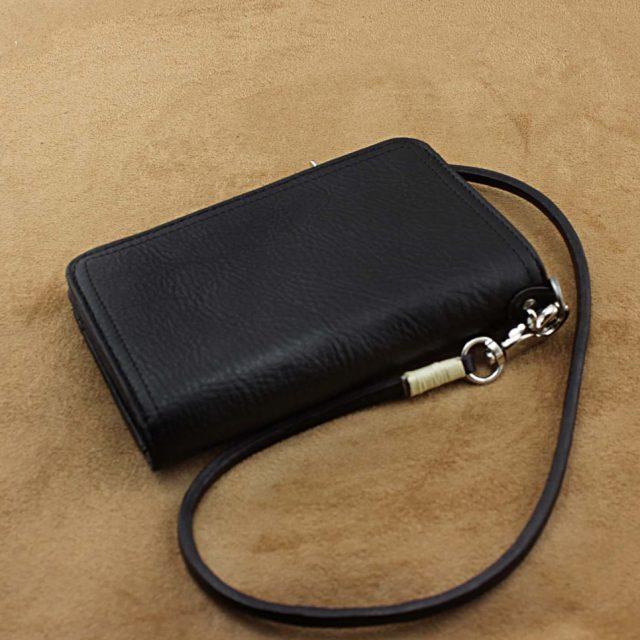Black Vintage Wallet – Genuine Leather