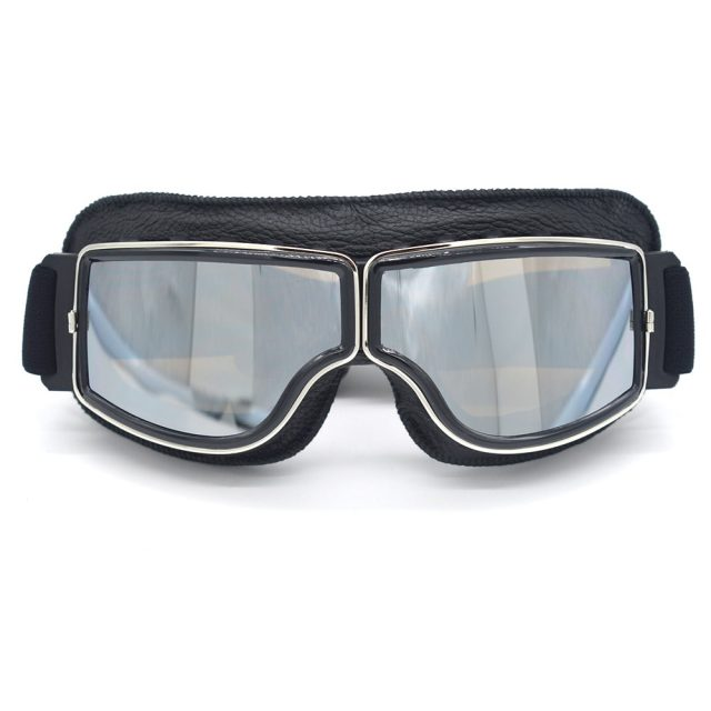 Retro Style Motorcycle Goggles
