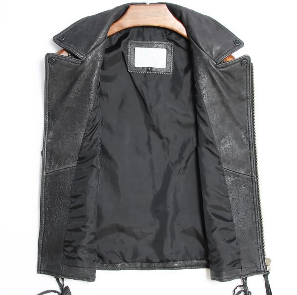 Genuine Leather Motorcycle Rider Vest