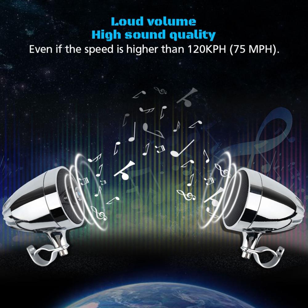 MP3 Player Bluetooth Speakers for Motorcycle Waterproof