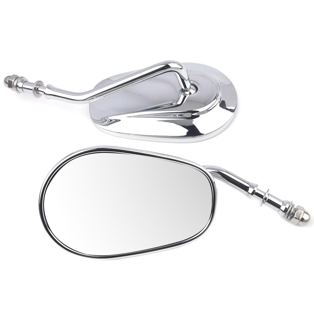 Motorcycle Mirror Rear View Mirror for Harley Sportster XL 883 1200 Fat boy Softail Dyna Bobber Chopper Street Glide 2006-2016