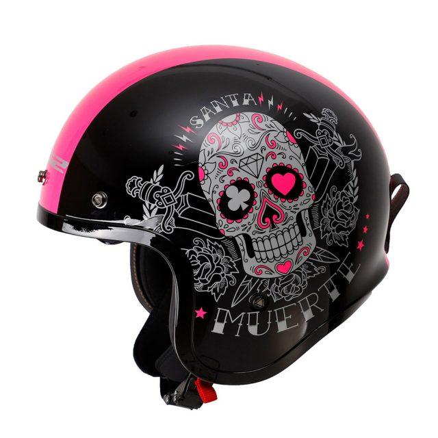 LS2 Spitfire Jet Motorcycle Helmet