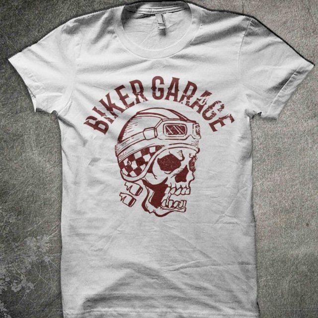 Biker Garage T-shirt
