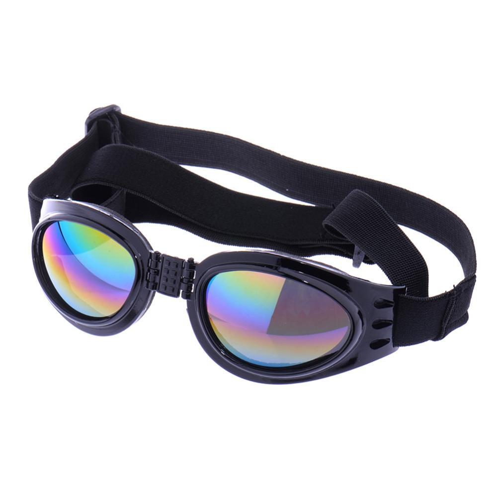 4 Colors foldable Pet Dog glasses medium Large Dog pet glasses Pet eyewear waterproof Dog Protection Goggles UV Sunglasses