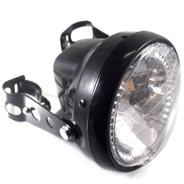 Retro Style Headlight with LED Turn Lights