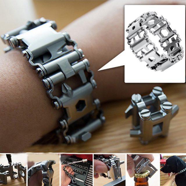 Stainless Steel Multi functional Bracelet