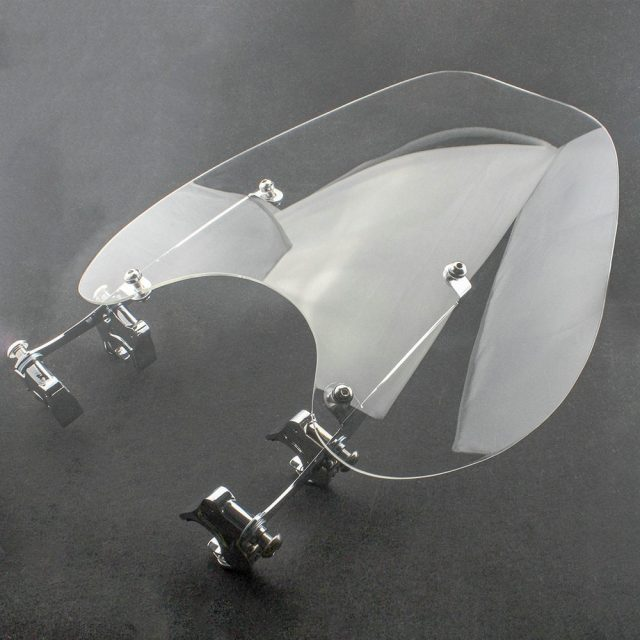 Motorcycle Windshield For Harley Sportster XL883 1986-2010 XL1200 1988-2011
