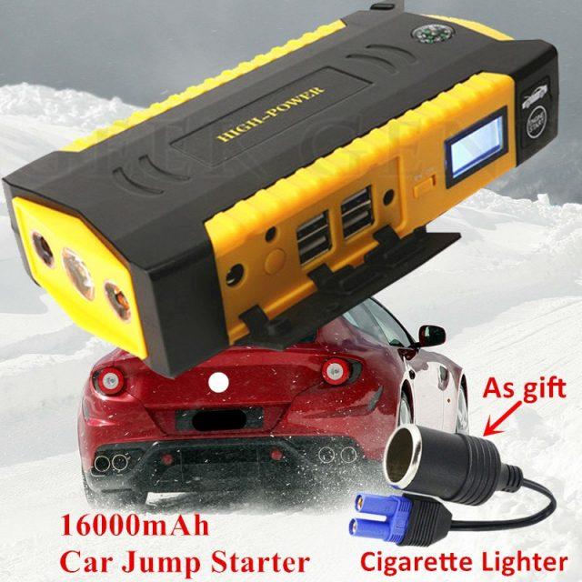 Super Power Jump Starter Power Bank 600A