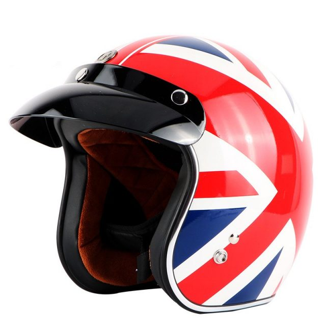 Open Face Helmet – The Union Jack