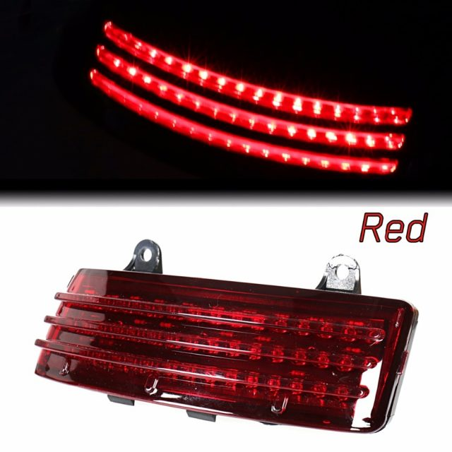 Tri-Bar LED Rear Tail Brake Light For Harley Touring and Road Glide